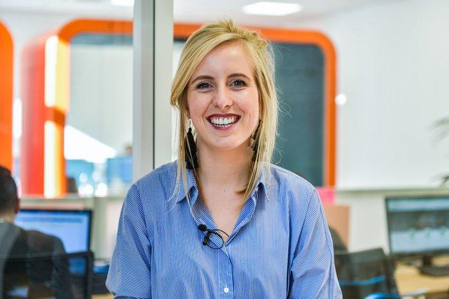 Rencontrez Caroline, Webmarketing - +Simple.fr