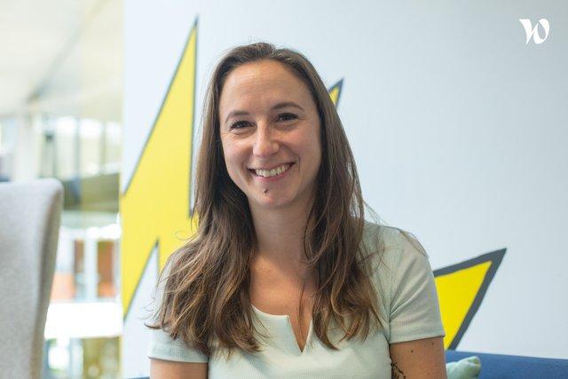 Rencontrez Carlotta, Office Manager - Thegreendata