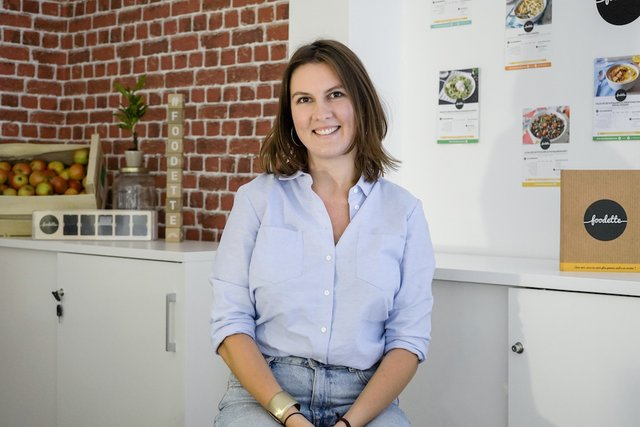 Rencontrez Madeleine, Responsable du très bon développement - Foodette