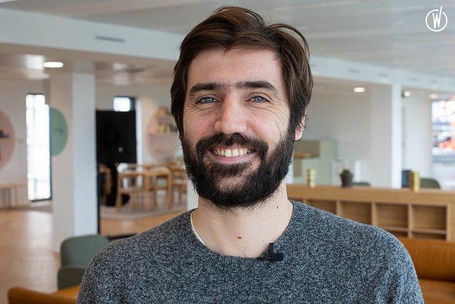 Rencontrez Tristan, Co-fondateur - Direction produit & innovation - Medelse