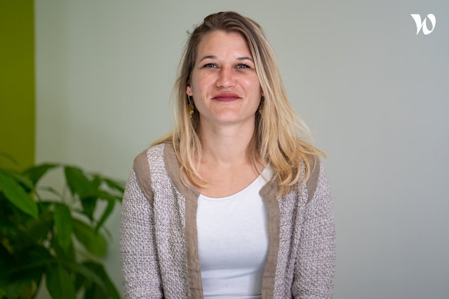Rencontrez Charline, Office Manager - TiHive