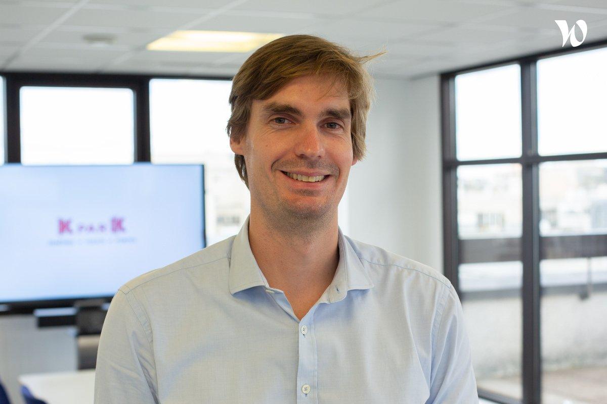 Rencontrez Benjamin, Responsable Marketing Opérationnel - KparK