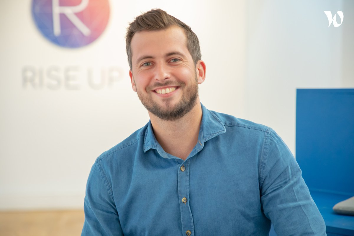Rencontrez Jordan, Head of Sales - Rise Up