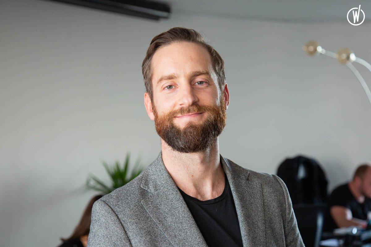 Rencontrez Thibault, Directeur des Opérations & Co Fondateur  - Weevup