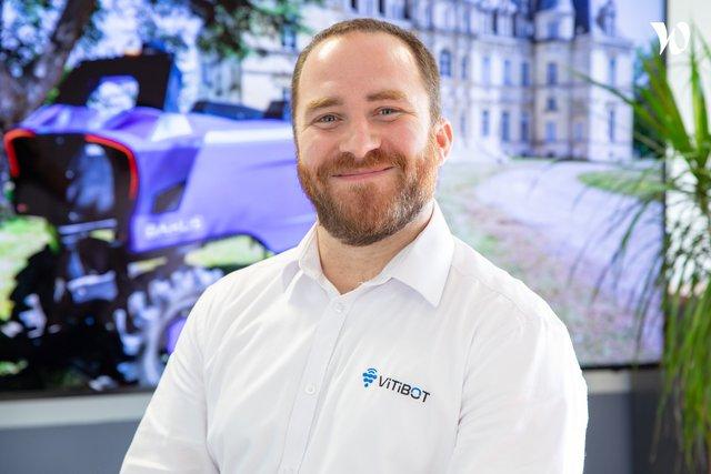 Rencontrez Michael, Directeur Marketing et Communication - Vitibot
