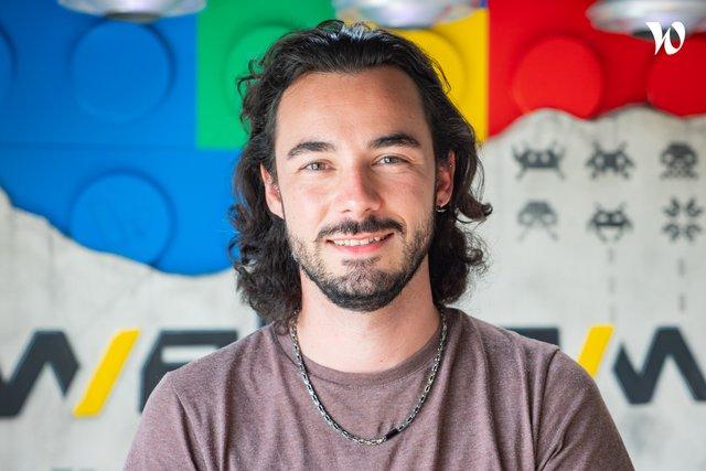 Rencontrez Emilien, AdStudio Manager - Webqam