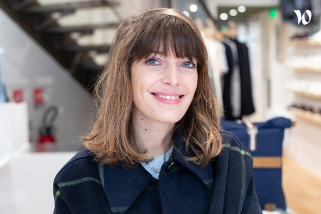 Rencontrez Caroline, Responsable Retail - Faguo