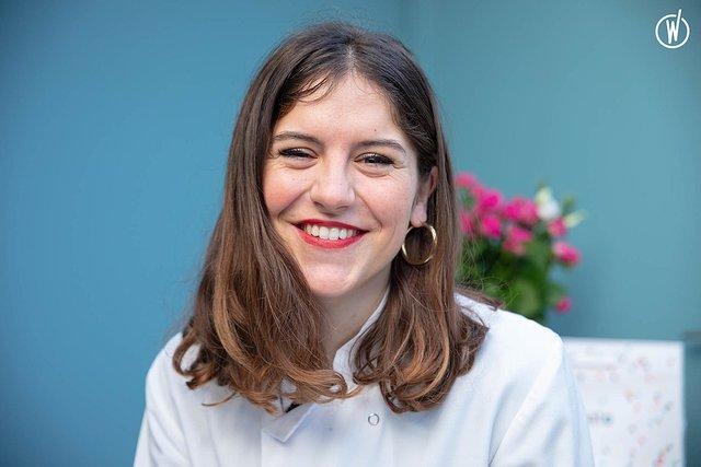 Rencontrez Eva, Pâtissière & Chargée des ateliers  - Chez Bogato