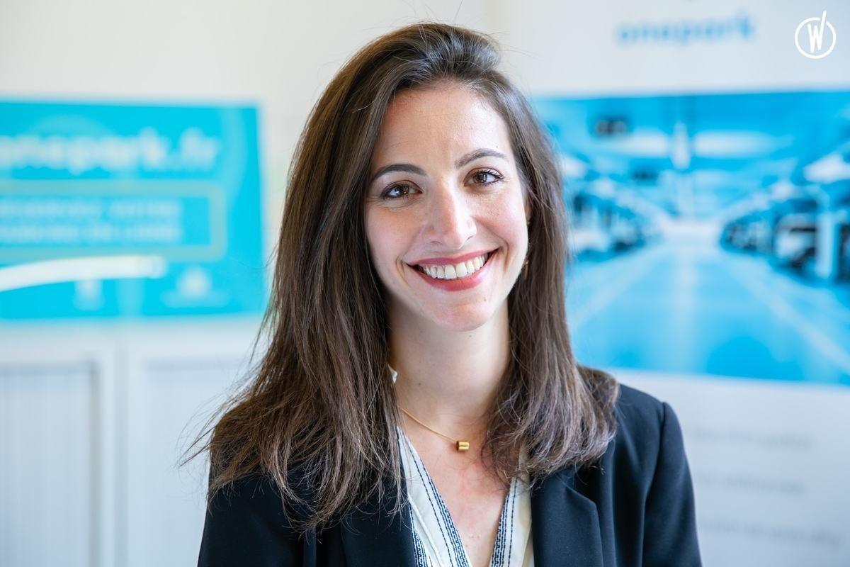 Rencontrez Rebecca, Head of Human Resources - Onepark