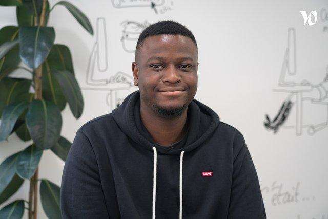 Rencontrez Maximilien Elegbe, Développeur ReactJS - ekWateur