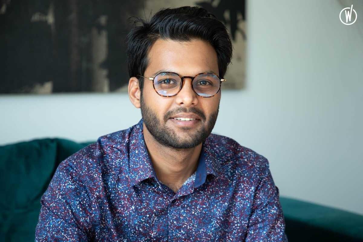 Rencontrez Krishna Gupta, Product Owner - Master The Monster