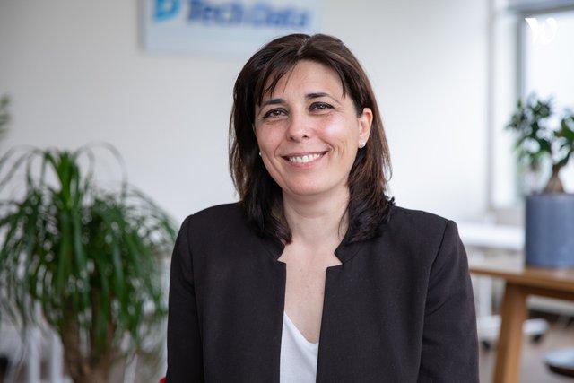 Rencontrez Christelle, Ingénieure Commerciale Terrain - Tech Data