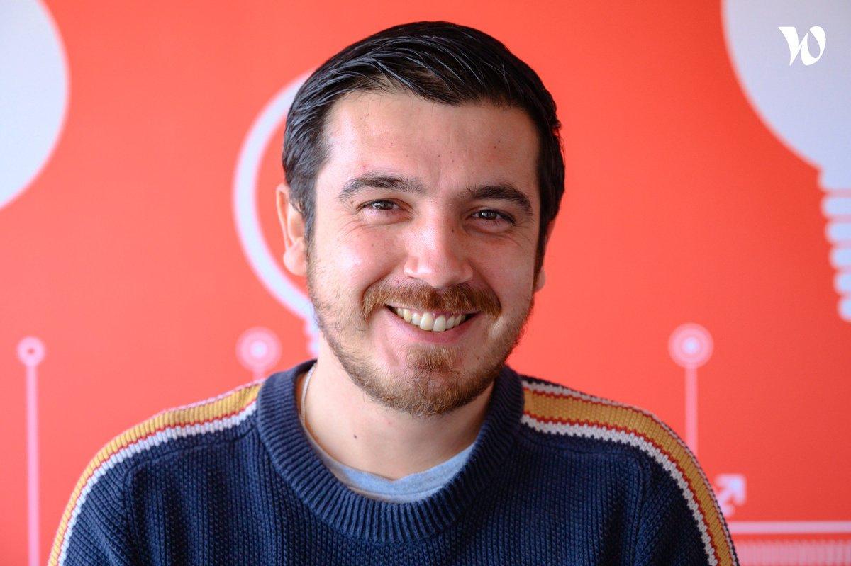 Rencontrez Sylvain, UX Researcher - Travaux.com