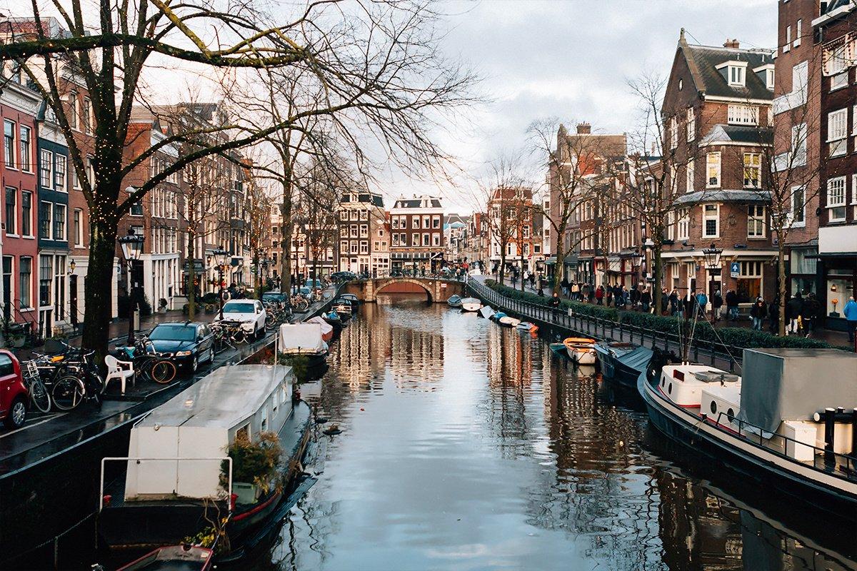 Práca v Amsterdame