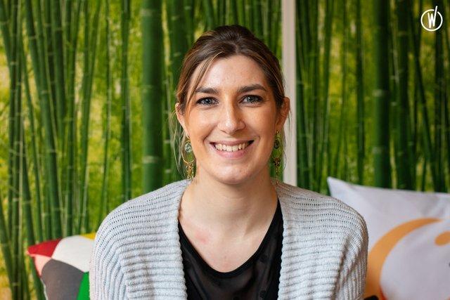 Rencontrez Stéphanie, Chargée d'études à l'Acceptation - Creatis