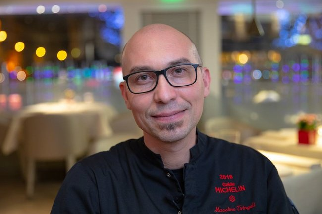 Rencontrez Massimo, Chef de Cuisine & Exécutif -  Emporio Armani Caffè & Ristorante