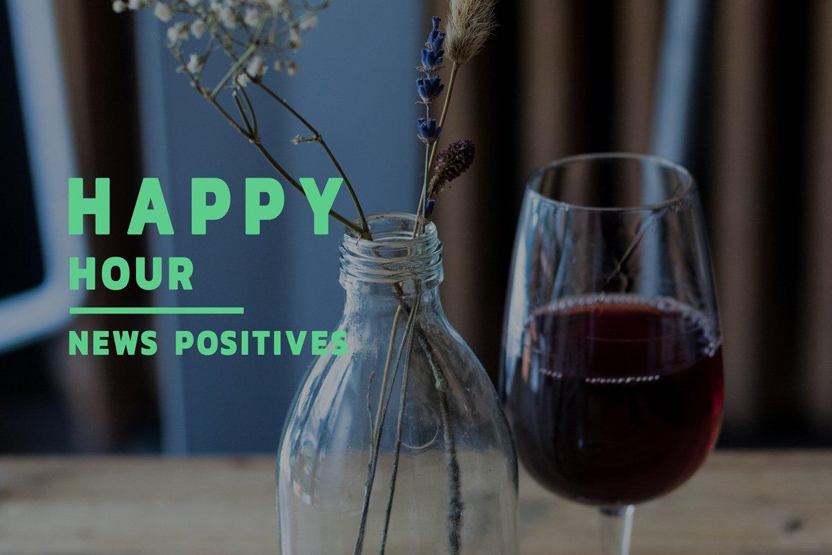 Les actus positives du travail de la semaine du 8 juin