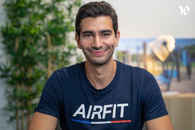 Rencontrez Mehdi, Co-founder - AirFit