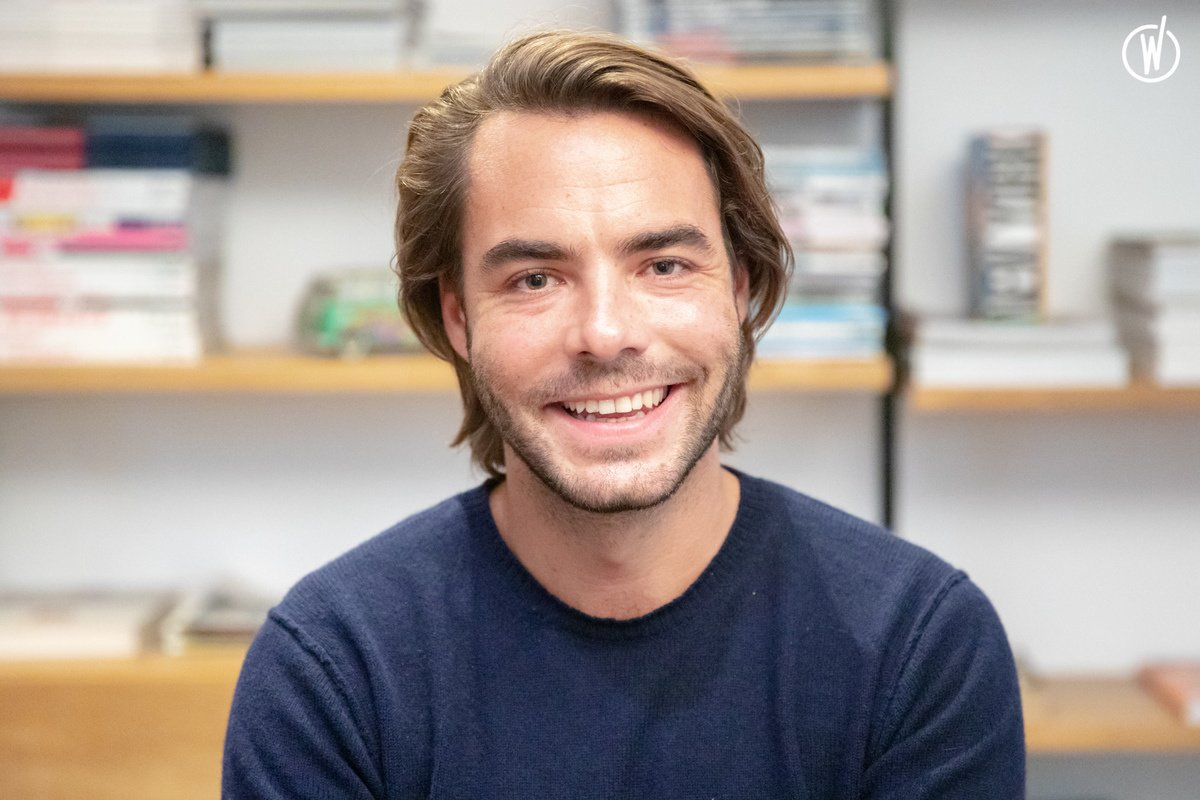 Rencontrez Guillaume, Responsable Commercial Homme - Hartford
