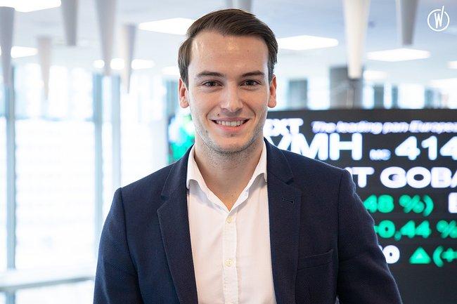 Rencontrez Thibault, Financial Derivatives Analyst - Euronext