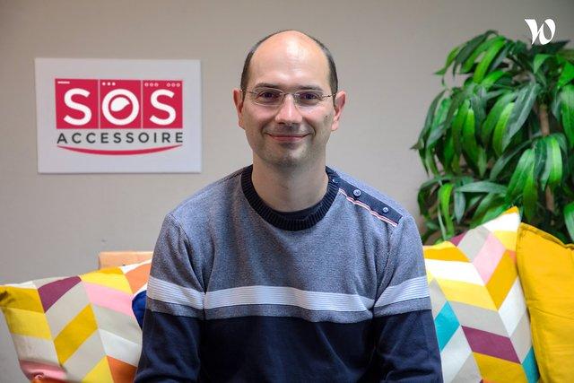 Rencontrez Sébastien,  Directeur Technique - SOS Accessoire