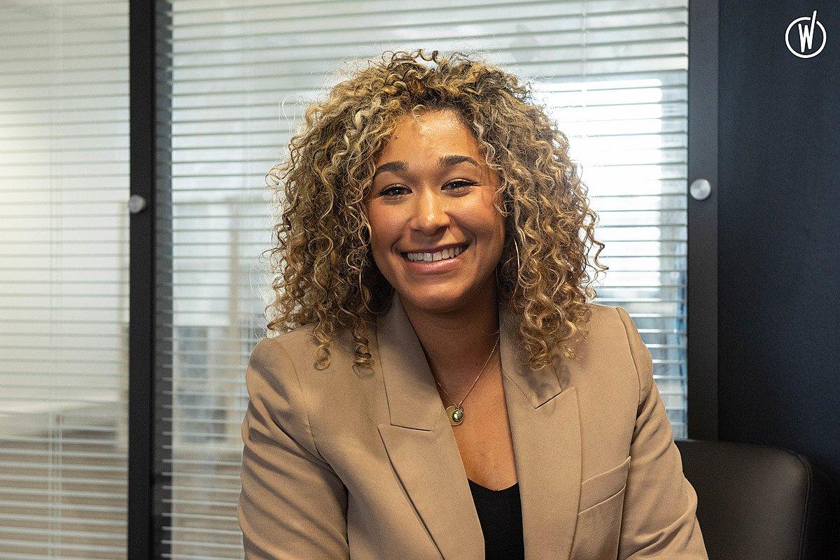 Rencontrez Olivia, Chef de Projet Relation Client - Groupe ADENES