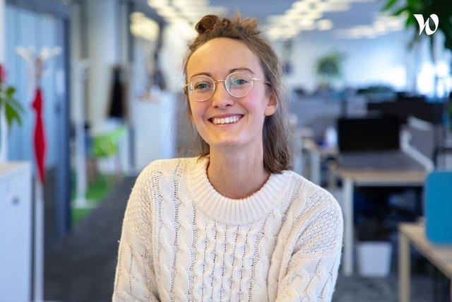 Rencontrez Claire, Head of staffer - StaffMe