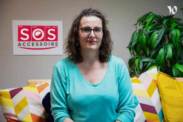 Rencontrez Edith, COO Chief Operating Officer - SOS Accessoire