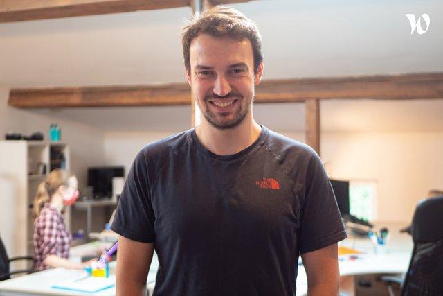 Rencontrez Patrick, Ingénieur Robotique - Wyca Robotics