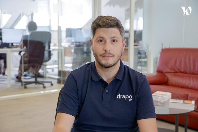 Rencontrez Fabien, Responsable commercial - Drapo