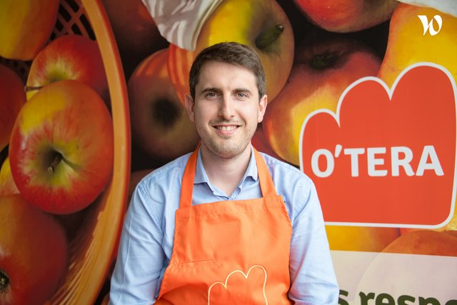 Rencontrez Antoine Dekeyser, Directeur de magasin - O'Tera