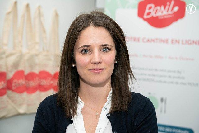 Rencontrez Laura, Co-fondatrice en charge de la marque & de l'expérience client - Basil