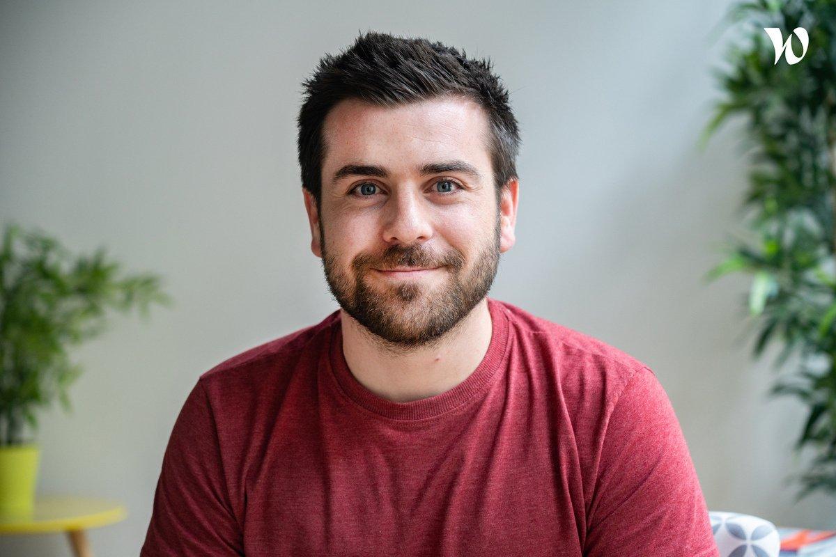 Rencontrez Matthieu, Chef de projet - Calliweb