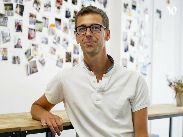 Rencontrez Florian, Head of Product Marketing - Eventmaker
