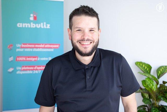 Rencontrez Julien, CTO - Ambuliz