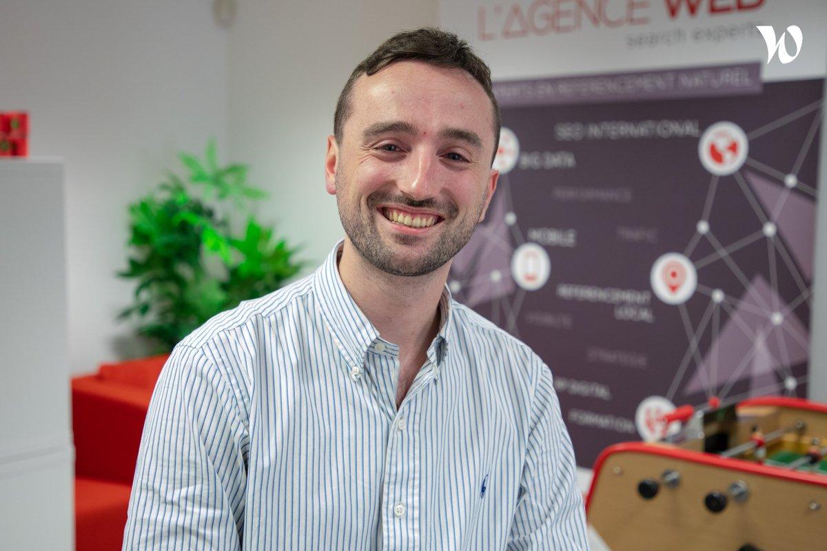 Rencontrez Guillaume, Consultant SEA - L'Agence Web