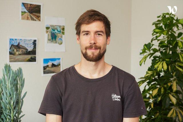 Rencontrez Samuel , Ingenieur agronome - Fermes en vie