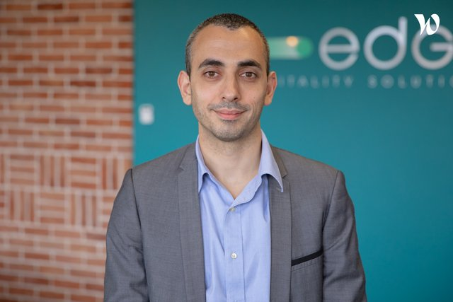Rencontrez Pascal, VP Engineering - D-EDGE Hospitality Solutions