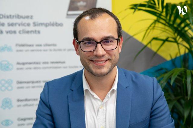 Rencontrez Alexandre, CEO - Simplébo