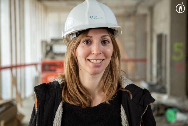 Rencontrez Delphine , Directrice d'opérations - RATP Real Estate