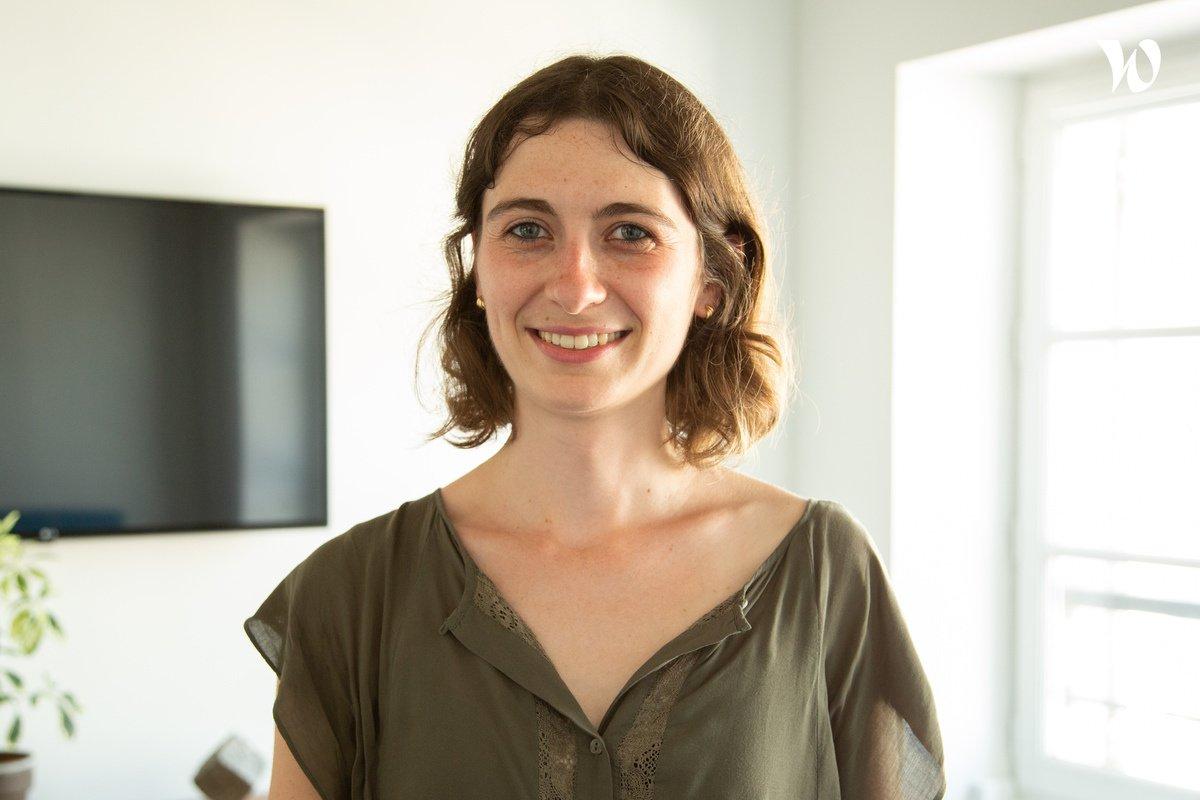 Rencontrez Justine, Product Manager - Yogosha