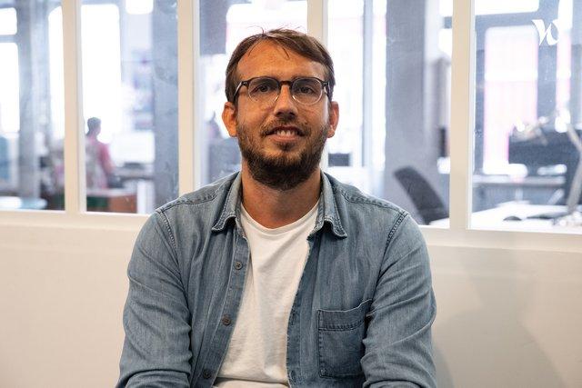 Rencontrez Sylvain, Chef de Projet - Recyclivre.com