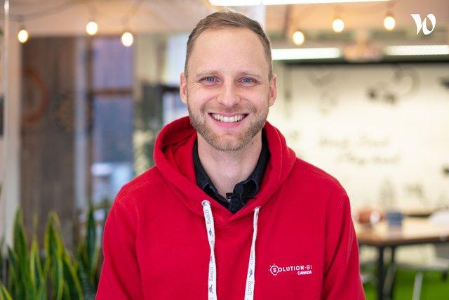 Rencontrez Nicolas, Directeur centre de livraison interne - Solution BI Canada