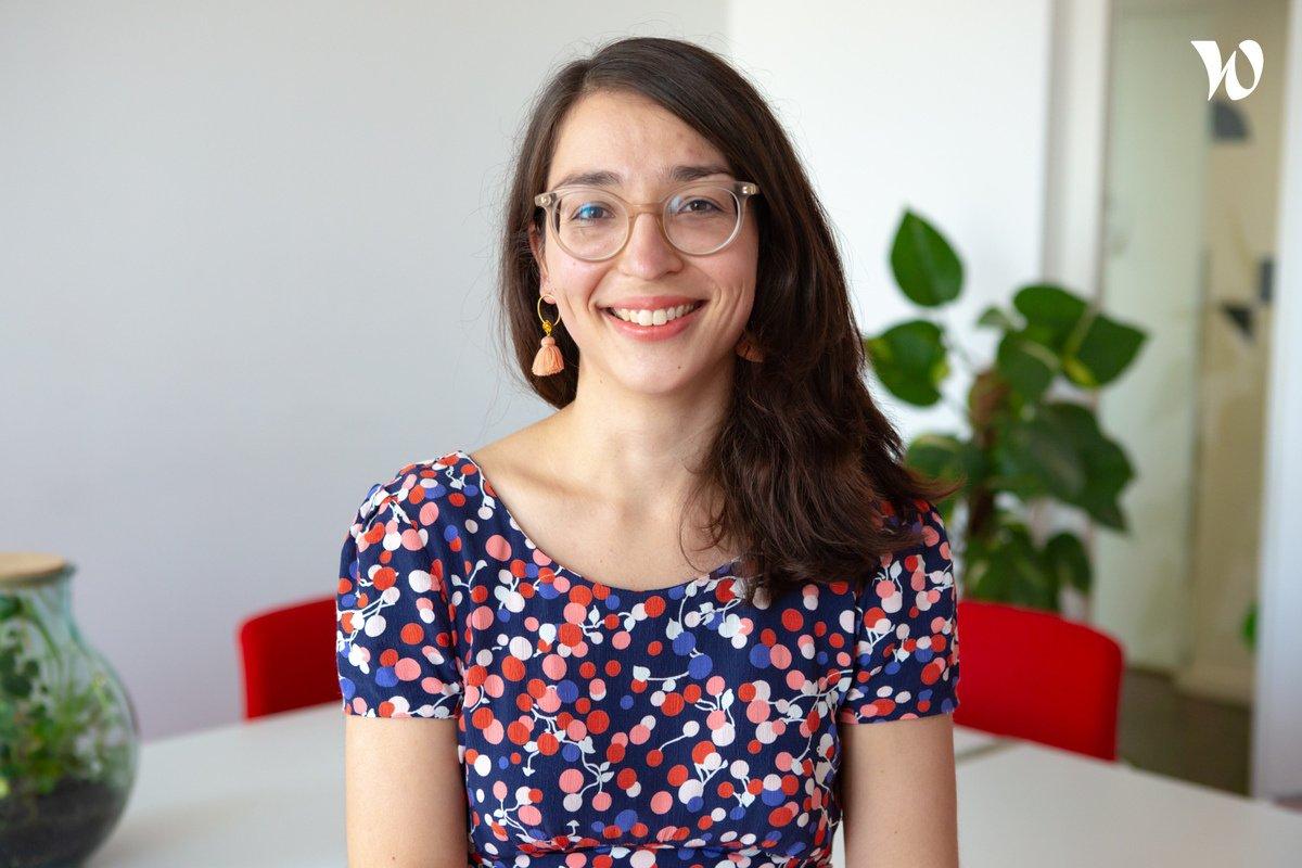 Rencontrez Charline, Directrice Marketing - Homaj