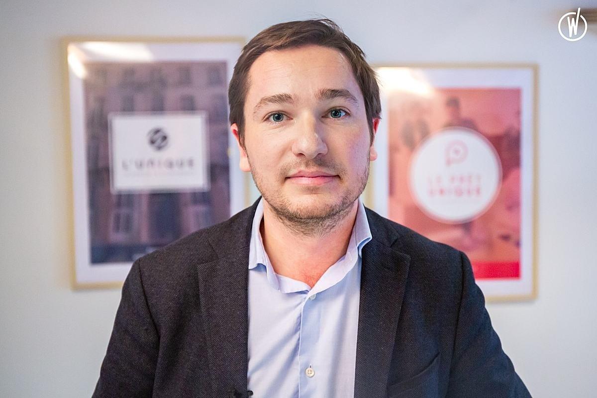 Rencontrez Côme, Fondateur  - L'unique - Immobilier et Financement