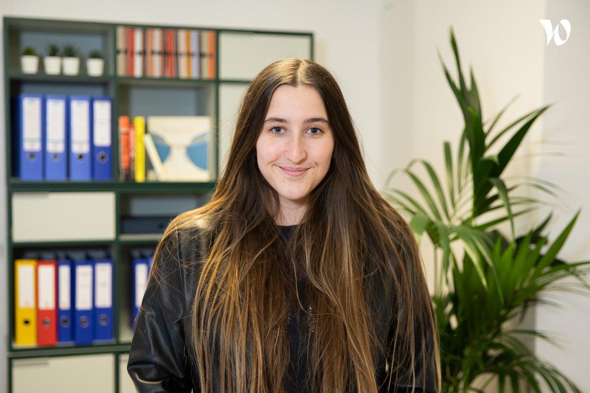 Rencontrez Laury, Chargée de communication - Nooz Optics