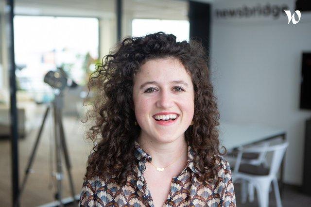 Rencontrez Emilie, Key Account Manager - Newsbridge