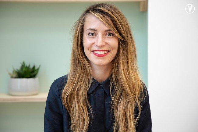 Rencontrez Sofia, Product Designer - Blank