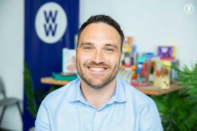 Rencontrez Anthony, Responsable des Ressources Humaines - WW (Weight Watchers réinventée)