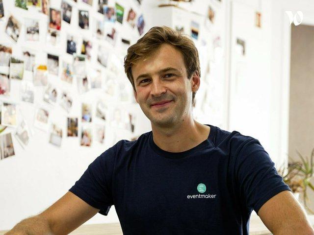 Rencontrez Tristan, CEO - Eventmaker